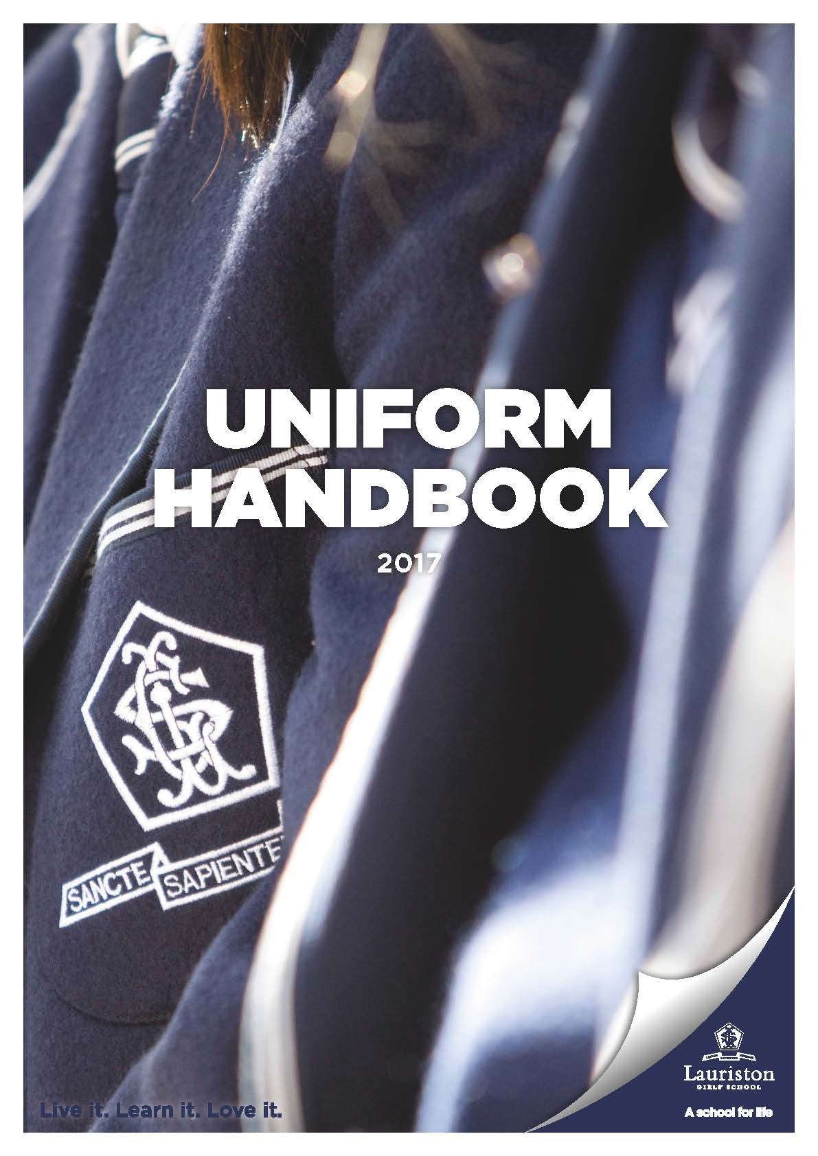 Pages from Uniform Handbook 2017