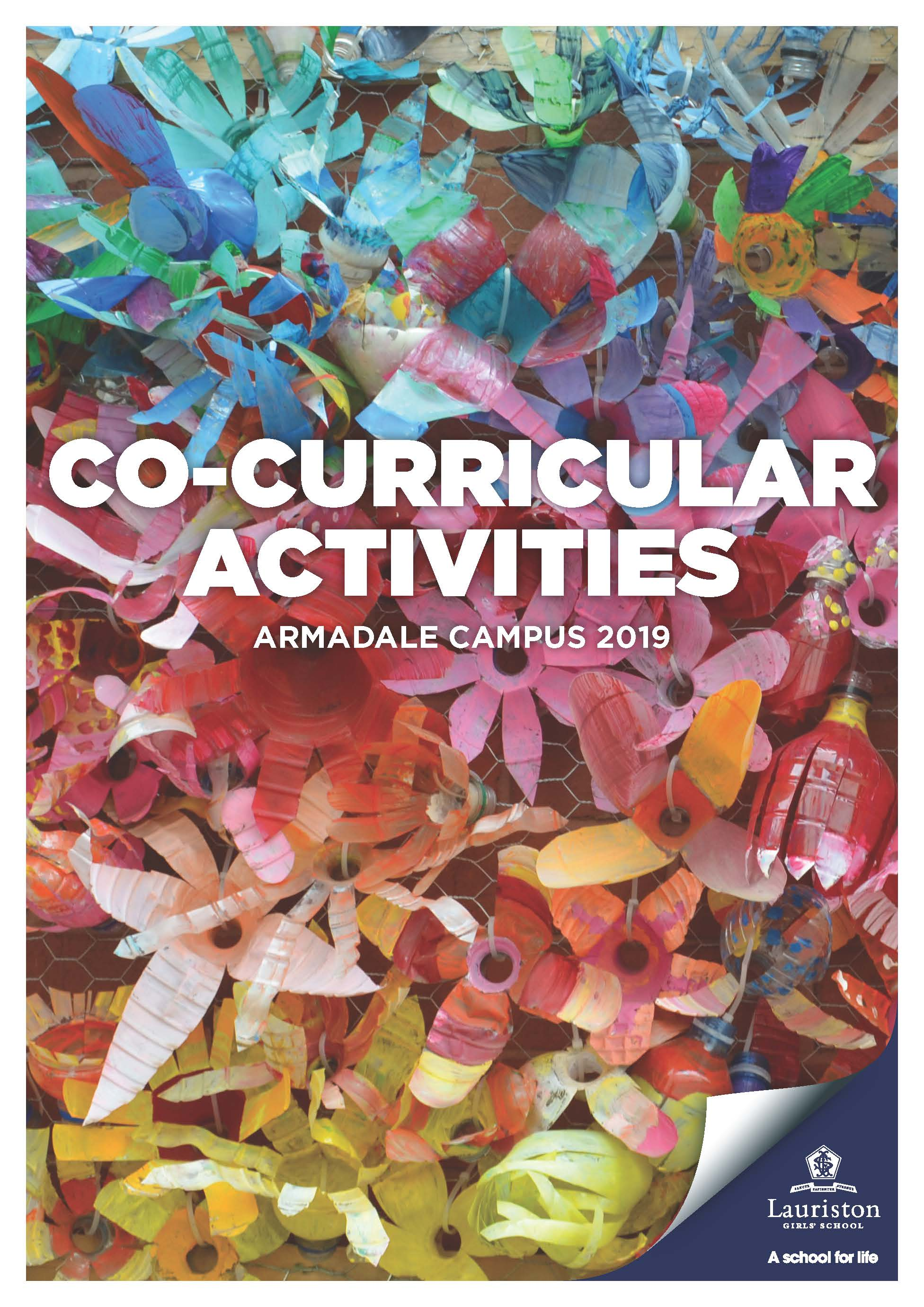 Co Curricular Activities Handbook 2019 Front Page