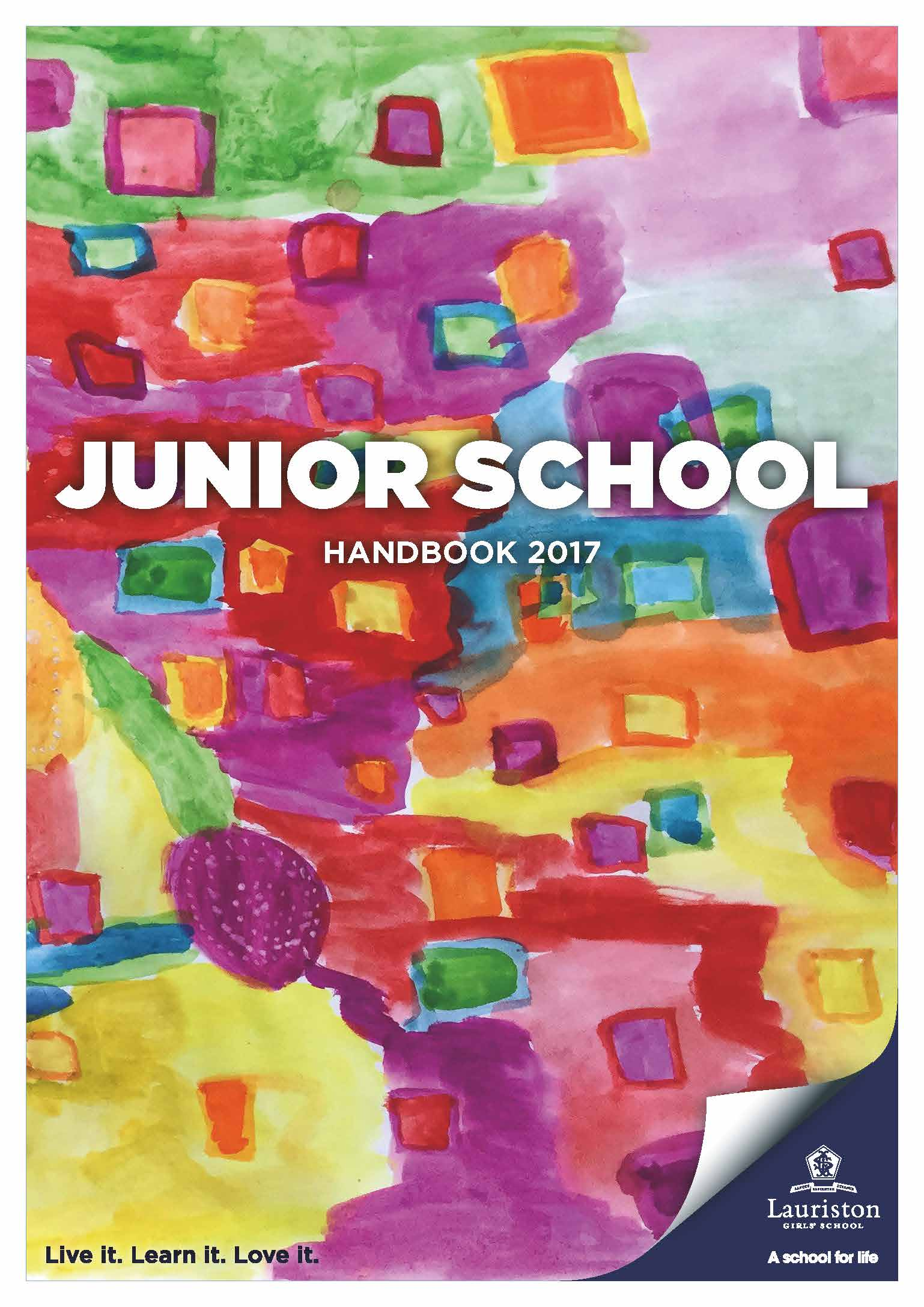 Pages from Junior Handbook