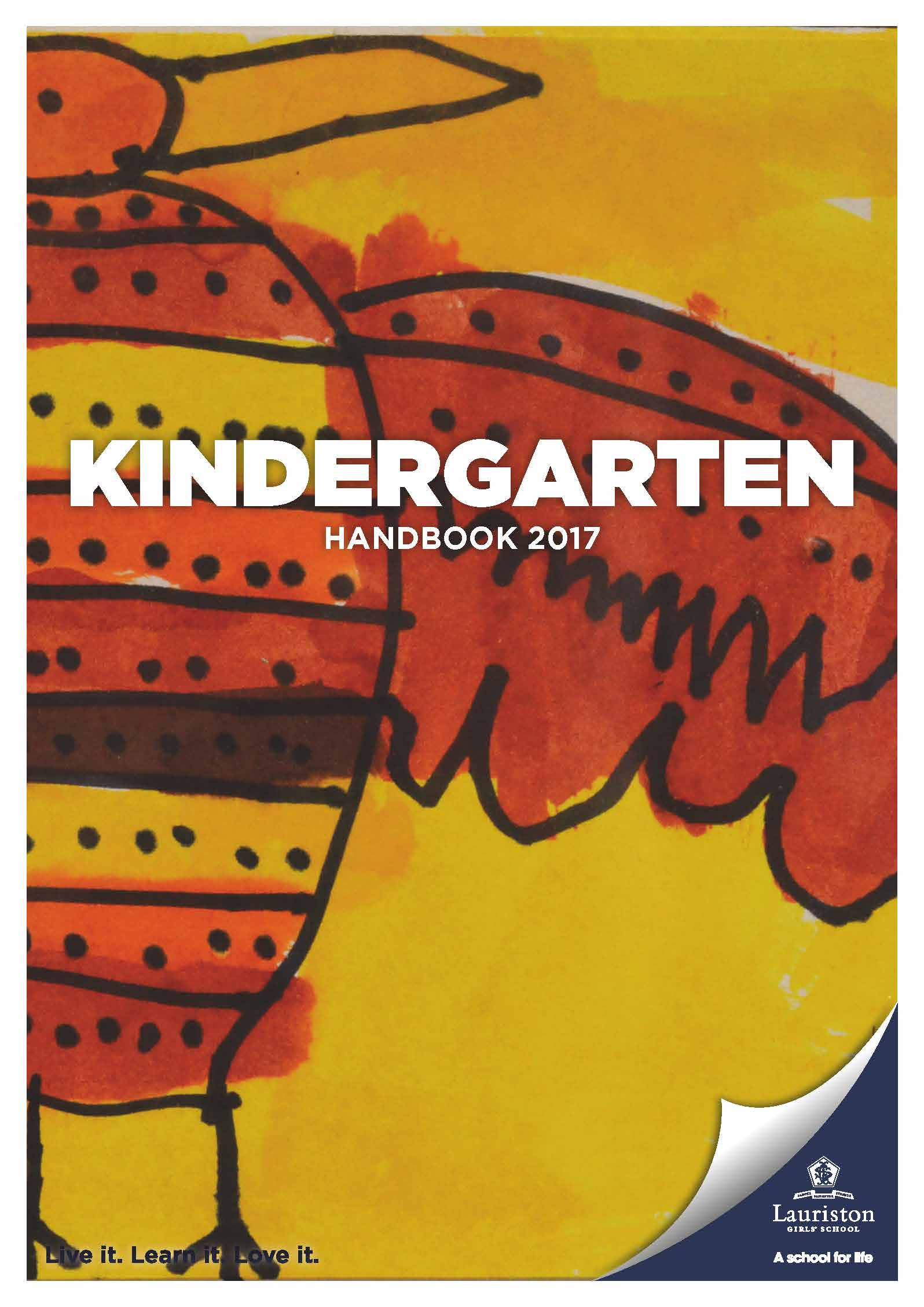 Pages from Kindergarten Handbook