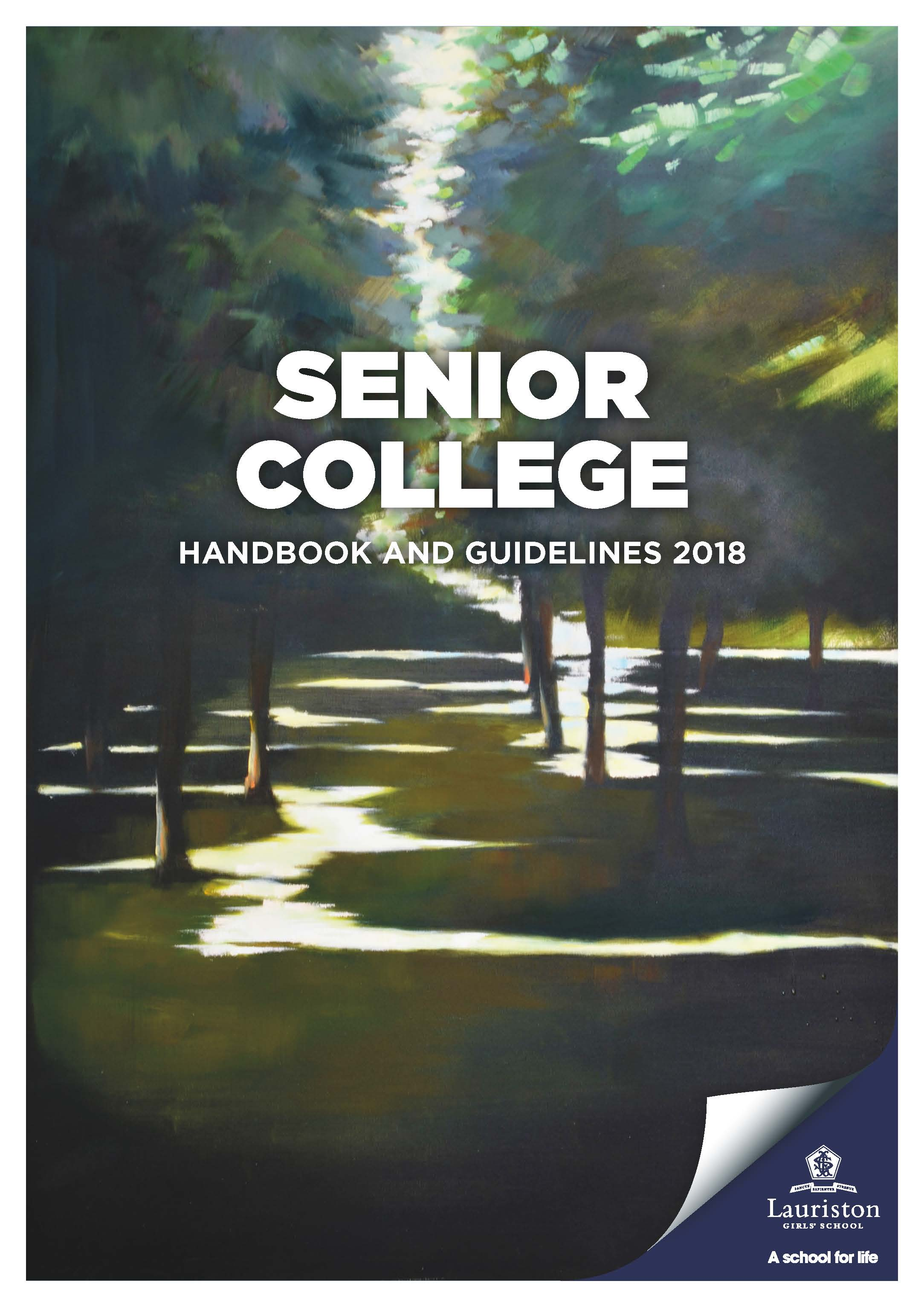 CoverSeniorHandbook2018