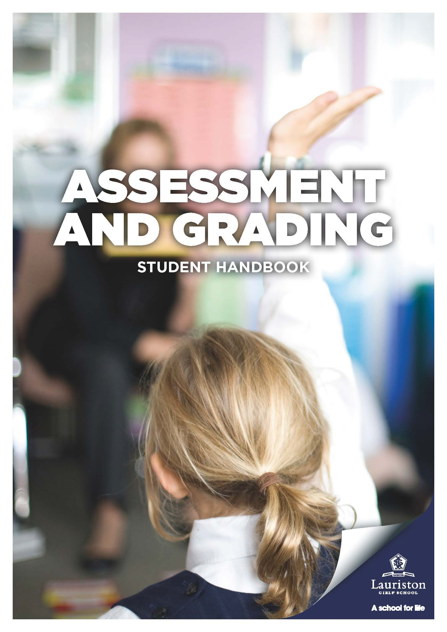 Pages from Assessment and Grading Student Handbook
