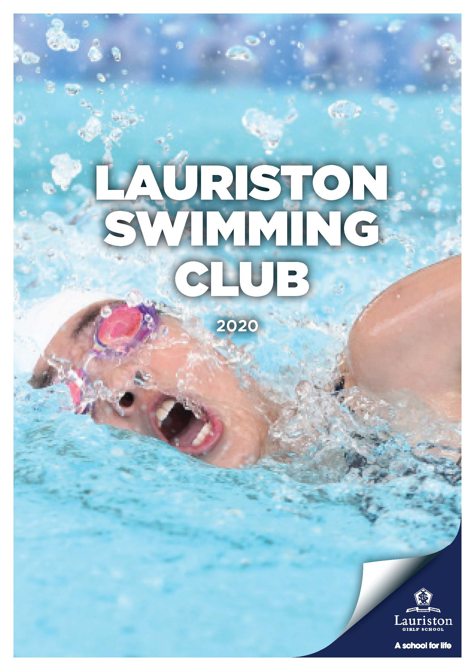 Lauriston Swim Club Cover