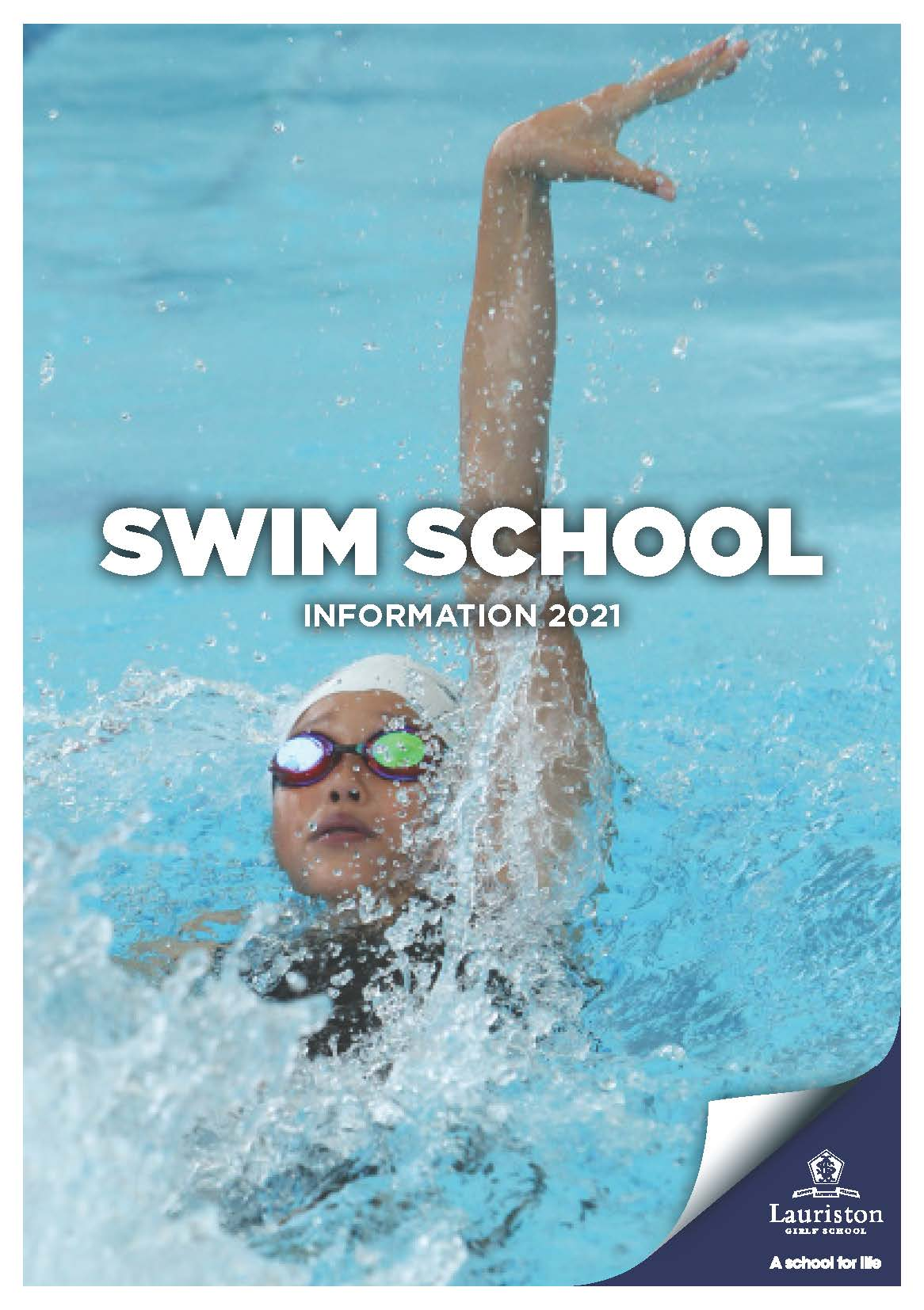 Swim School Information 2020 Cover