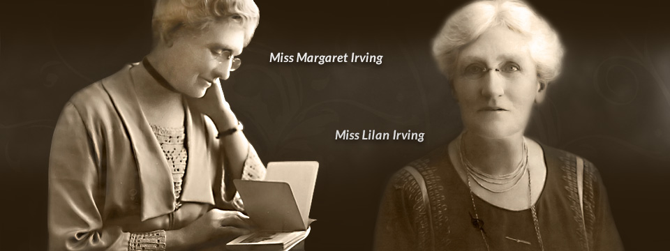 Lauriston-Girls' School Melbourne Founder Miss Lilian Irving & Miss Margaret Irving