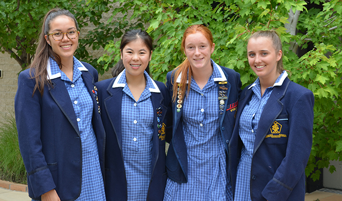 After A Long Wait Those Lauriston Girls Who Undertook The International Baccalaureate Received Their Final Score For Diploma This Morning