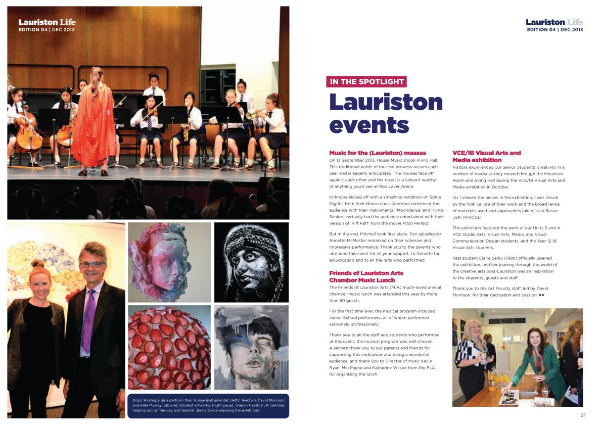 Index of /publications/lauriston-life-december-edition-2013